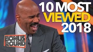 MOST VIEWED 2018 Family Feud Moments!