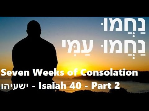 Seven Weeks of Consolation - Week 1 - part 2