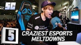 5 Craziest Meltdowns in eSports History   LoL eSports
