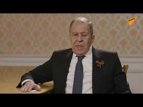 Lavrov: Washington'daki bazı şahsiyetlerin açıklamalarında şizofrenik notalar var