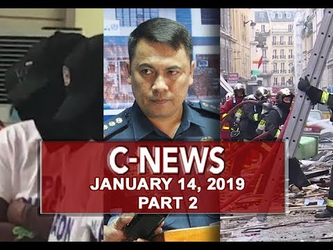 UNTV: C-News (January 14, 2019) PART 2