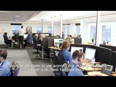 Verisure België - Het Verisure alarmsysteem kan horen en spreken