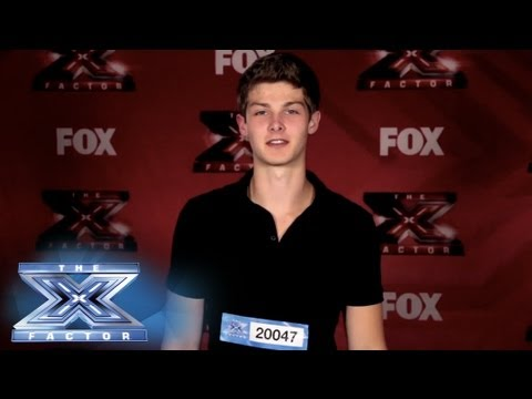 Yes, I Made It!  Zach Beeken - THE X FACTOR USA 2013 - Smashpipe Entertainment