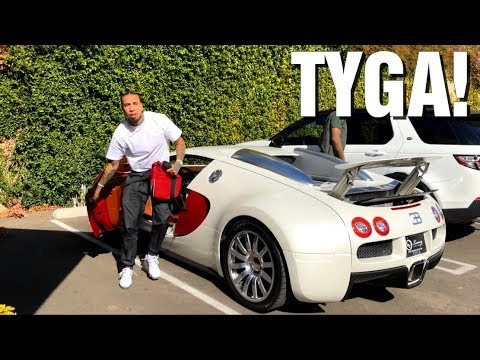 TYGA DRIVING HIS BUGATTI VEYRON in Los Angeles!