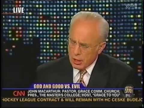 God and Good vs. Evil (Larry King Live with John MacArthur)