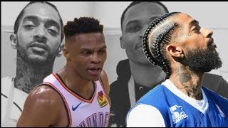 THIS FOR NIPSEY! Russell Westbrook Gets Iconic 20, 20 & 20 Triple Double To Honor Nipsey Hussle