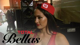 Nikki Bella Gets Emotional After Seeing Ex John at Rumble | Total Bellas | E!