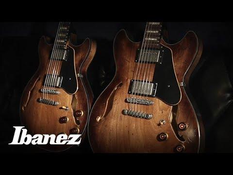Ibanez AFV10A-TCL Artcore Vintage Guitar (Tobacco Burst Low Gloss)