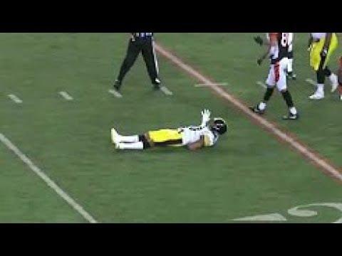 Ryan Shazier Suffers Back Injury - Possibly Paralyzed (HD)