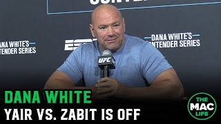 Dana White says Yair Rodriguez vs. Zabit Magomedsharipov is off; reacts to The Rock buying the XFL