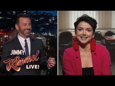 Jimmy Kimmel Interviews Bekah M from The Bachelor