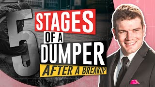 The 5 Definitive Stages For A Dumper After A Breakup