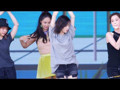 170812 DMZ 평화 콘서트 - 태연(소녀시대) 'Holiday' 리허설1 4K 60P 직캠 by DaftTaengk