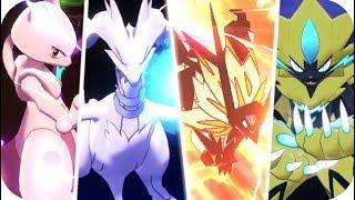Pokémon Sword & Shield : All Legendary Pokémon Signature Moves (1080p60)