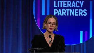 2018 Literacy Partners Gala: Sarah Paulson