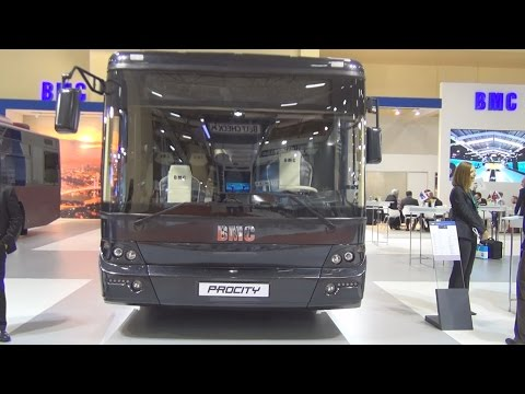 BMC Procity 10 M Bus (2016) Exterior and Interior in 3D