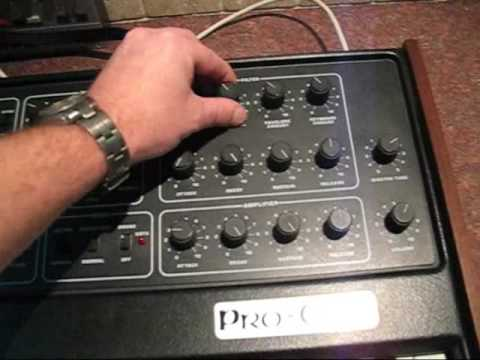 Pink Floyd Style - Sequential Circuits Pro-One