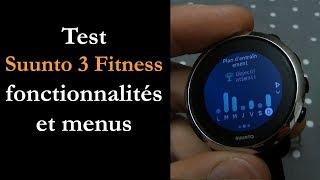 vidéo test Suunto 3 Fitness par Montre cardio GPS