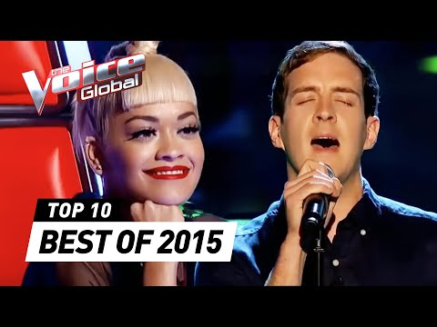BEST 'Blind Auditions' of 2015   The Voice Global