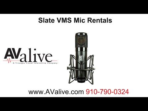 Slate Virtual Microphone VMS Rental 225 Weekly