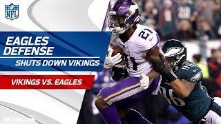 Philly Defense Shuts Down Minnesota! | Vikings vs. Eagles | NFC Championship Player HLs