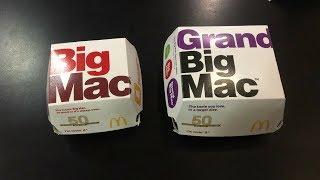MCDONALD'S GRAND BIG MAC - REVIEW