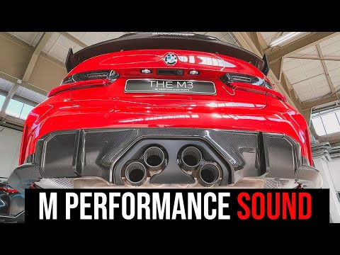 EXCLUSIVE: The Sound Of The M Performance Exhaust for new 2021 BMW M3 and M4