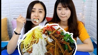 Cách làm BÁNH TRÁNG TRỘN CHIÊN ăn vặt cực HOT - Món Ăn Ngon