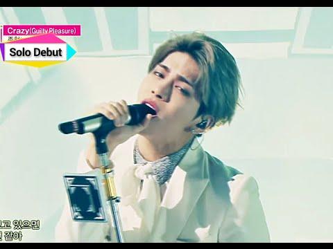 [Solo Debut] JONGHYUN - Crazy (Feat. IRON), 종현 - 크레이지 (Feat. 아이언), Show Music core 20150110