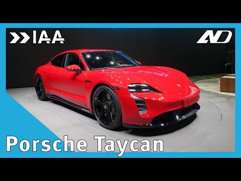 Les presentamos Porsche Taycan, el eléctrico más deportivo qué hay - IAA2019