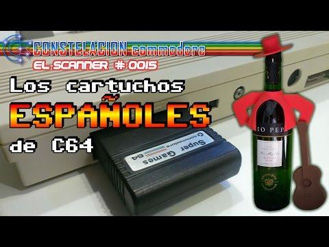 Los cartuchos españoles de Commodore 64 | El Scanner #0015