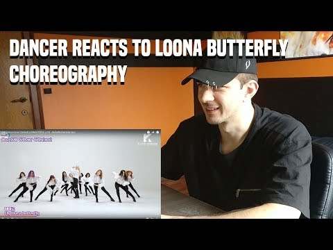DANCER REACTS TO LOONA(이달의 소녀) _ Butterfly DANCE