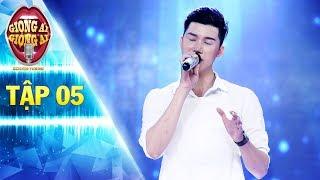 Giọng ải giọng ai 2   tập 5: Chàng đầu bếp hát hit Noo Phước Thịnh khiến Phương Thanh ngỡ ngàng