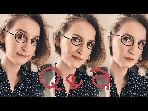 Q&A: Moje okulary, terapia, niewierzący znajomi