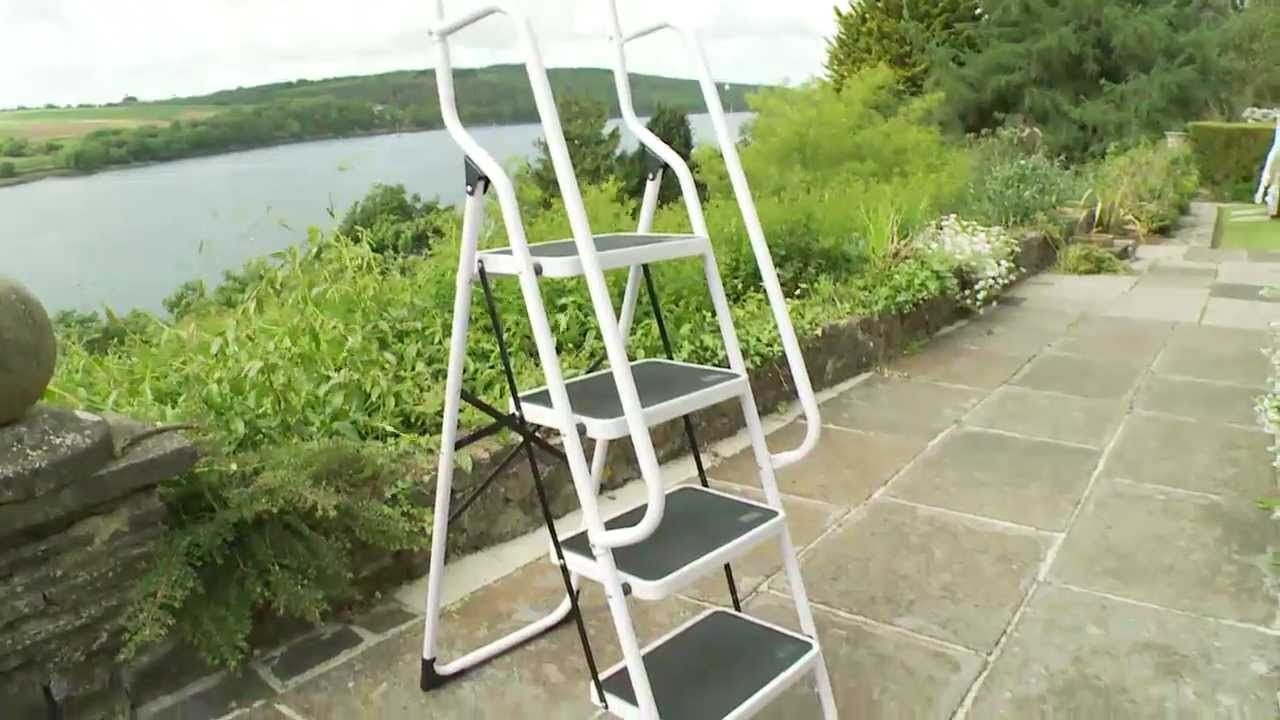 Four Step Safety Ladder From Clifford James Youtube
