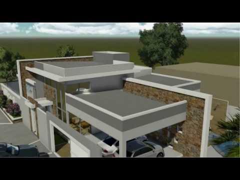 Minha casa digital arquiteto natan fontes platibanda for Casa moderna 8x20