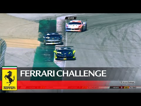 Ferrari Challenge North America - Laguna Seca, Trofeo Pirelli Race 1