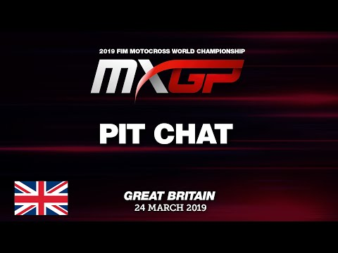 MXGP UK 2019: Pit Chat with Tommy Searle and Studio Show