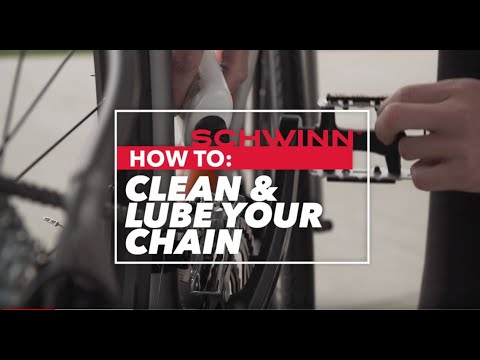 How to Lube and Care for your Bike Chain