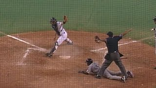Womack hits an inside-the-park grand slam