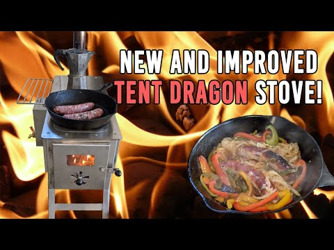 New Stainless Steel SilverFire Tent Dragon Stove