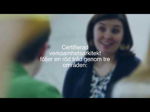 Certifierad verksamhetsarkitekt - en presentation av utbildningens delar