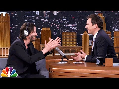 The Whisper Challenge with Keanu Reeves