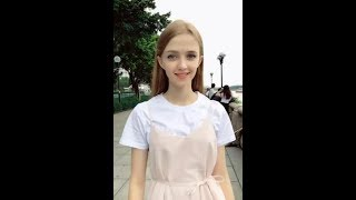 「Tik Tok」Beautiful girl with good temperament