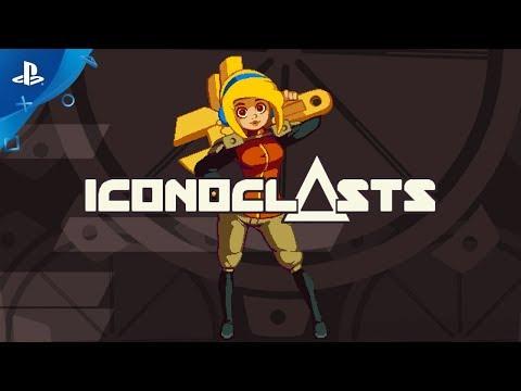 Iconoclasts – Feature Trailer   PS4 & Vita