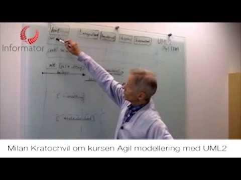 Lyssna på UML-konsulten Milan Kratochvil prata Agil modellering med UML2