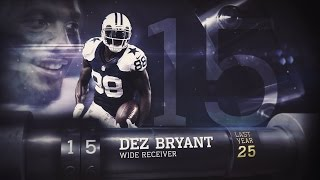 #15 Dez Bryant (WR, Cowboys) | Top 100 Players of 2015