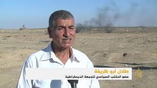 شهيد ومئات الجرحى بنيران الاحتلال في غزة      -