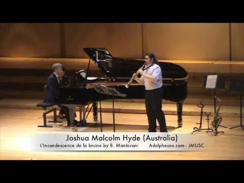 3rd JMLISC Johua Malcolm Hyde (Australia) L'Icandescence de la bruine by B. Mantovani