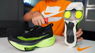 What's inside Nike's Fastest Running Shoe?